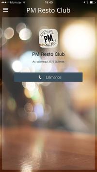 PM Resto Club poster