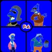 Los simpson trivia quiz icon