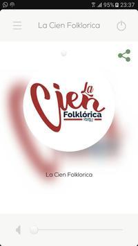 La Cien Folklorica 100.1 poster