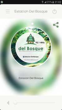 Estación del Bosque poster