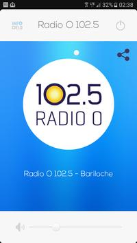 Radio O 102.5 poster