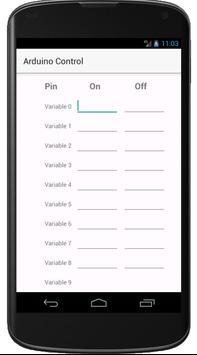 Arduino Control screenshot 1