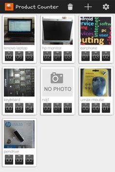 Product Counter apk screenshot