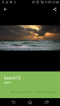 Beach wallpaper screenshot 4