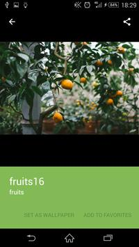Fruits wallpaper screenshot 2