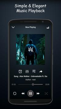 Cloud Music Player screenshot 2