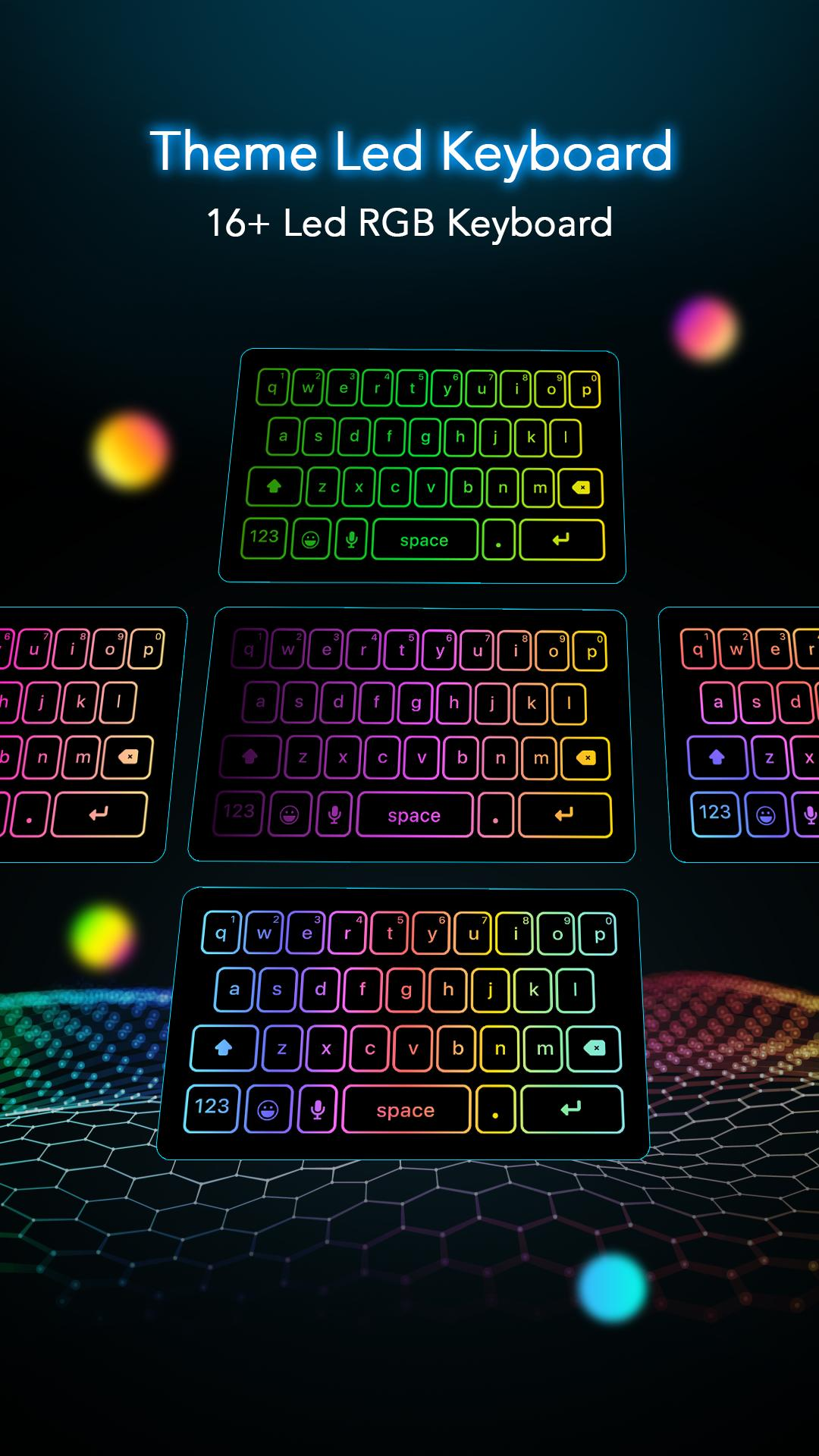LED Light Keyboard - Flash Effects Keyboard for Android
