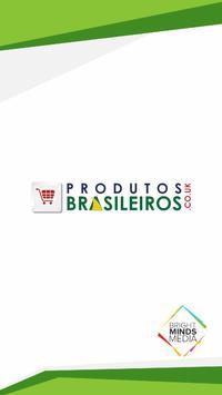 Produtos Brasileiros poster