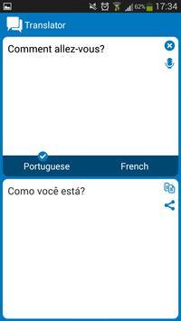 Portuguese - French dictionary apk screenshot