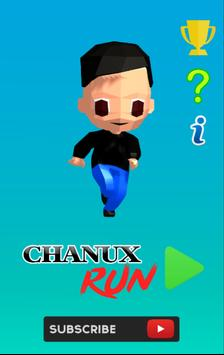 Chanux Run poster
