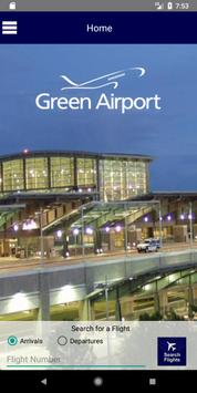 T.F. Green Airport poster