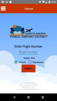 Santa Maria Airport poster