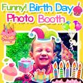 Happy Birthday Sticker Booth