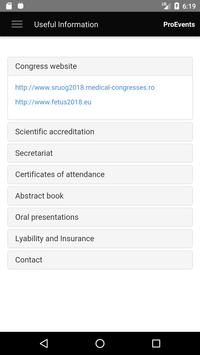 SRUOG & Fetus Congress screenshot 2