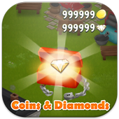 Unlimited Diamonds Hay Day icon