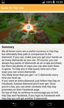 Unlimited Diamonds Hay Day screenshot 2