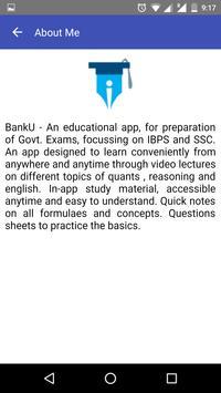 Prof BankU apk screenshot