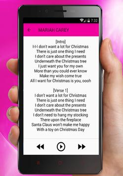 Mariah Carey - All I Want For Christmas Is You apk screenshot