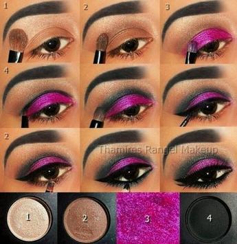 Professional makeup tutorials poster