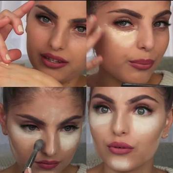 Professional makeup tutorials apk screenshot