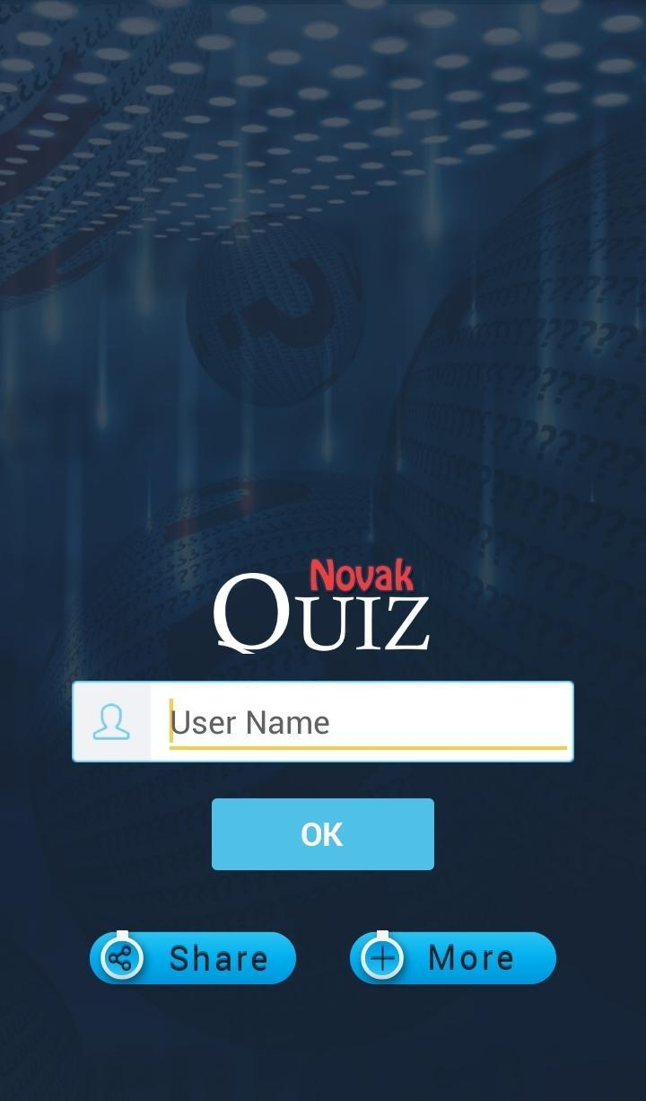 Novak Djokovic Quiz For Android Apk Download