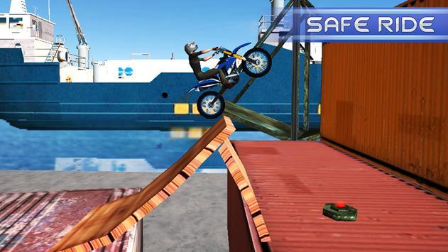 Tricky Stunt Bike Extreme Racer screenshot 2