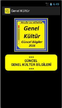 Genel Kültür 2017 Güncel poster