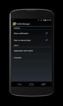 Profile Manager screenshot 6