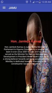 Hon. Jamleck Kamau apk screenshot