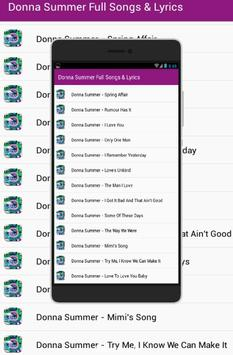 Donna Summer Full Song Lyrics for Android - APK Download