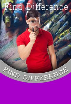 Find Difference Art 67 poster