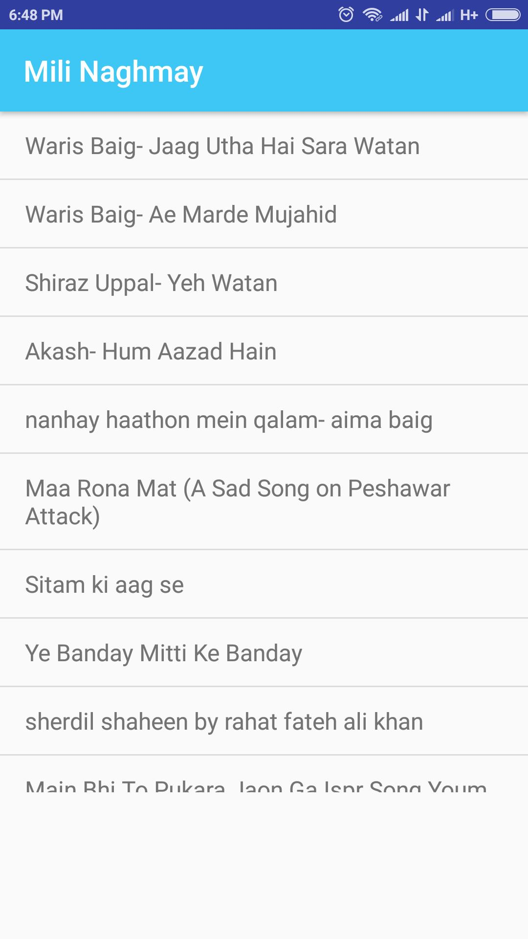 Pakistani Army PAF NAVY songs for Android - APK Download
