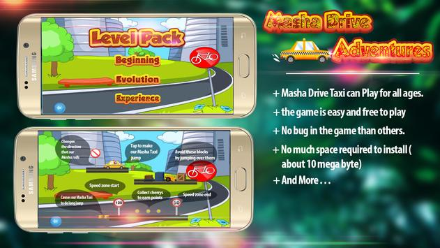 Masha Drive Taxi Adventures 🚕 apk screenshot