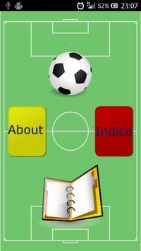 Regole del calcio poster