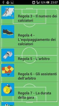 Regole del calcio screenshot 1