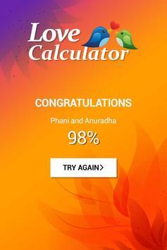 Love Calculator Prank screenshot 5