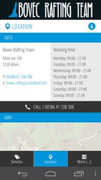 Bovec Rafting Team screenshot 1