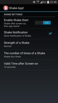 Shake to Launch screenshot 3