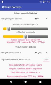 Calculadora solar autoconsumo screenshot 2