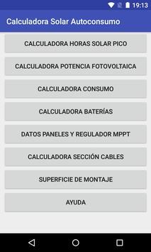 Calculadora solar autoconsumo screenshot 7
