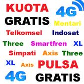 CARA KUOTA INTERNET GRATIS icon