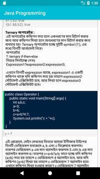 Java Programming Bangla screenshot 5
