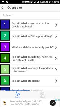 Oracle Interview Questions screenshot 1