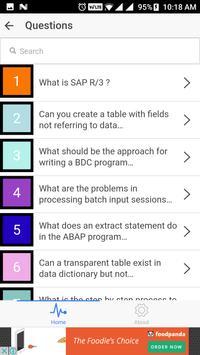 SAP Interview Questions screenshot 1