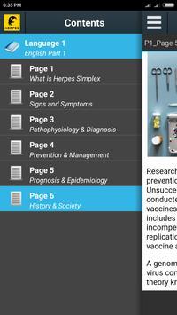 Herpes Info screenshot 4
