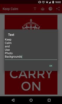 Keep Calm screenshot 2
