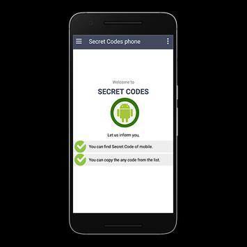 secret code phone apk screenshot