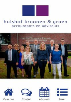 Hulshof, Kroonen & Groen poster