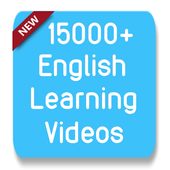 15000+ English Learning Videos icon