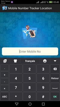 Mobile Phone Number Tracker 2018 apk screenshot